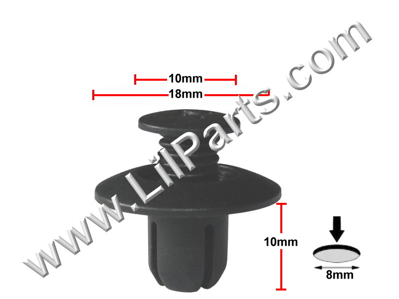 Compatible with Mazda: UB39-45-919 626 2000 - A20465 A20465 C277