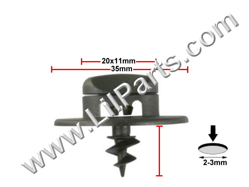 Compatible with VW & SKODA - 3d0864200a71n PN:[11-854]