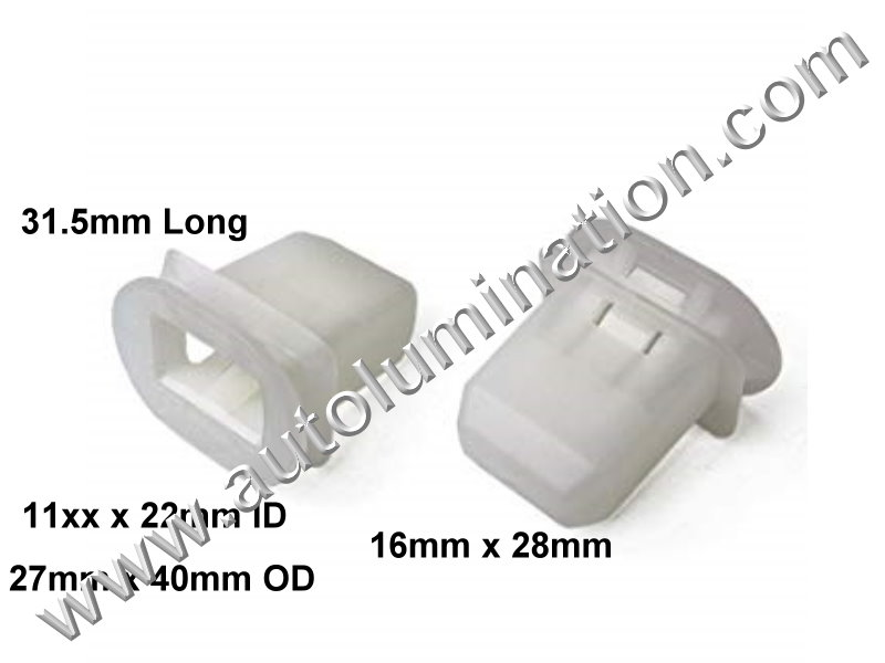 Replaces Toyota 72693-12080 Seat Cushion Pad Bracket Support Clip PN:[TF1]