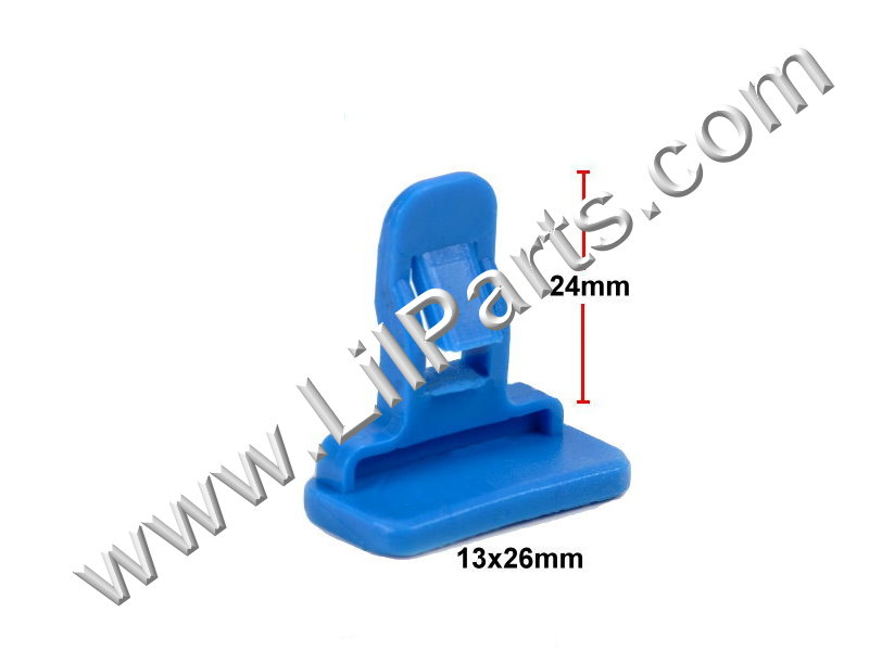 Compatible with Toyota: 75392-04010 Camry, FJ, RAV 4 & Tacoma 2005 - On PN:[11-167] Auveco 21016