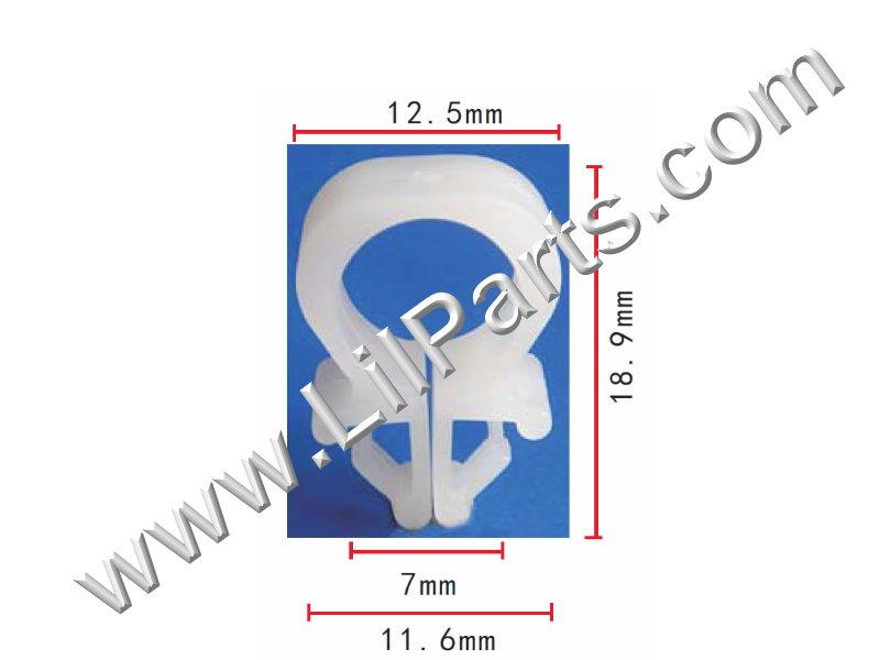 Compatible with Mazda: 9927-70-901 C51 Auveco 14378