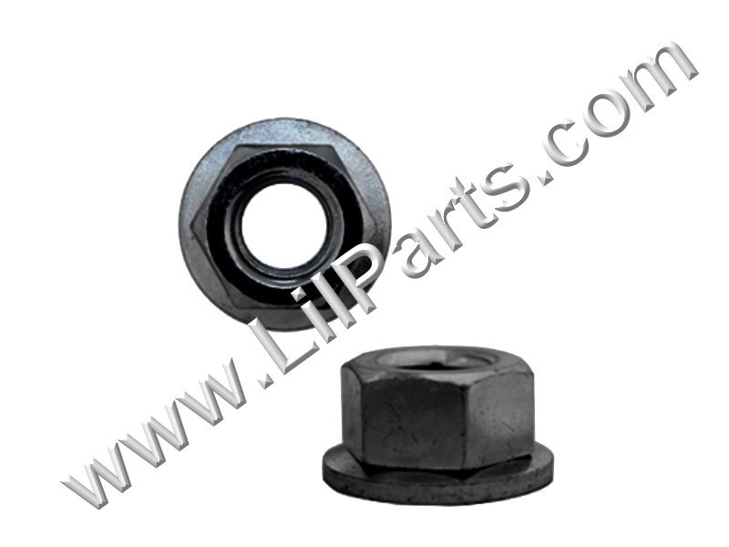 M6-1.0 Free Spinning Washer Nut GM 11501800 15334 Swivel Flange Auveco 15334