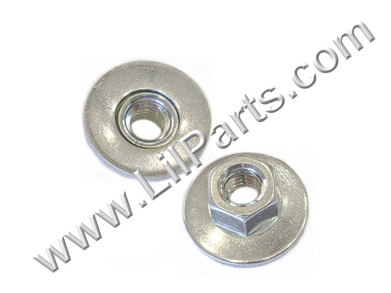 M6-1.0 Free Spinning Washer Nut GM 11508275 15330 Swivel Flange Auveco 15330