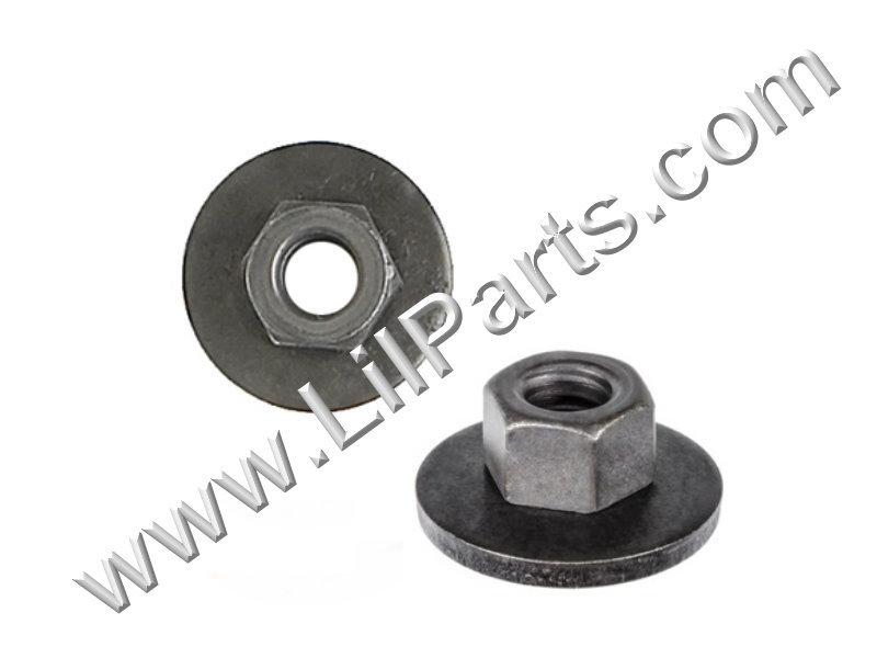 1/4-20 Free Spinning Washer Nut Ford Chrysler 45334 6023204 6025004 15347 Swivel Flange Auveco 15347