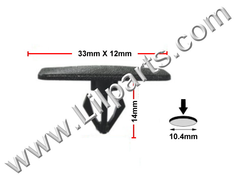 Compatible with GM: 10437565 Chevrolet Impala, Lumina & Monte Carlo 2000 - On N/A