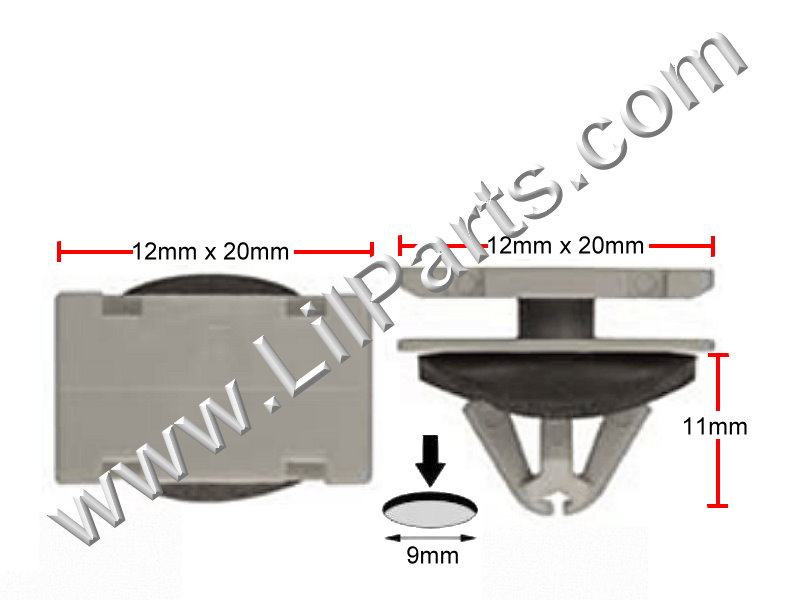 Compatible with GM: 11571175 Chevrolet Traverse 2010 -, A21374, C1606, PN:[11-627]
