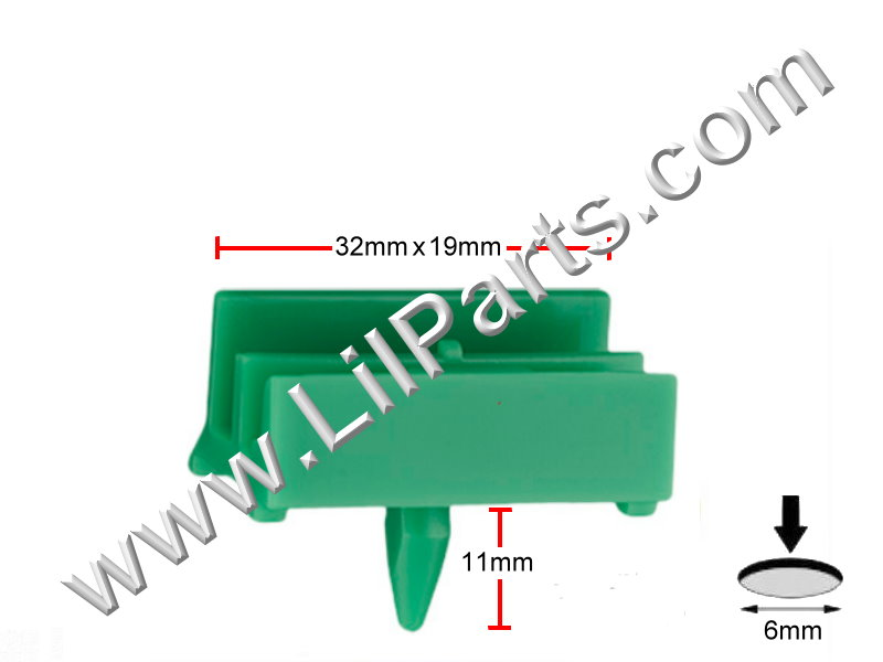 Compatible with BMW 5 Series 2010 – 2002, A22142, PN:[11-635]