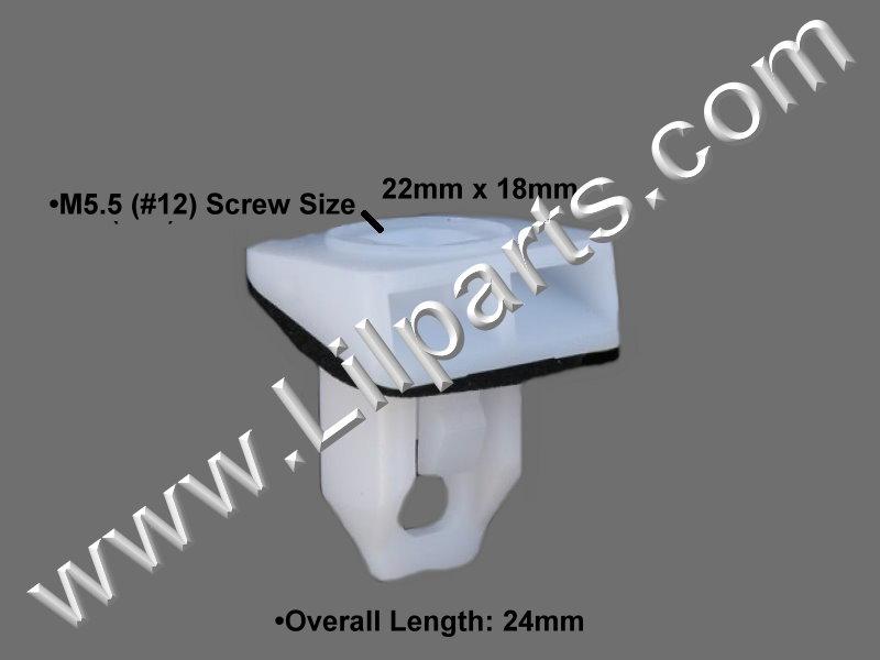 Compatible with Lexus: 52197-30040 CT200h, GS300, 350, 430, 460, GS450h, HS250h, LS460, 600h, RX350 & RX450h 2006 –  Auveco 21682,1AUTO 11-670 PN:[11-399]