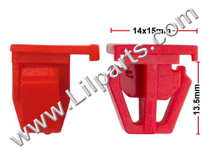 Compatible with Honda: 75305-SH4-003 Civic 1996 - On PN:[10-297] Auveco 20785
