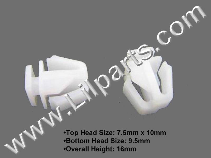 Compatible with Honda: 75306-SZA-A01 Pilot 2011 - 09 PN:[11-199] Auveco 21470
