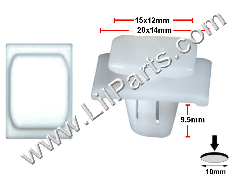 Compatible with Acura: 75315-STK-A01 RDX 2009 - 07 N/A Auveco 21204