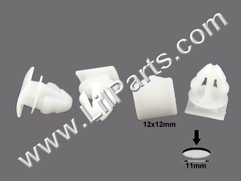 Compatible with AUDI OEM 09-17 Q5 Front Door-Lower Molding Clip 8R0853909A PN:[11-863]