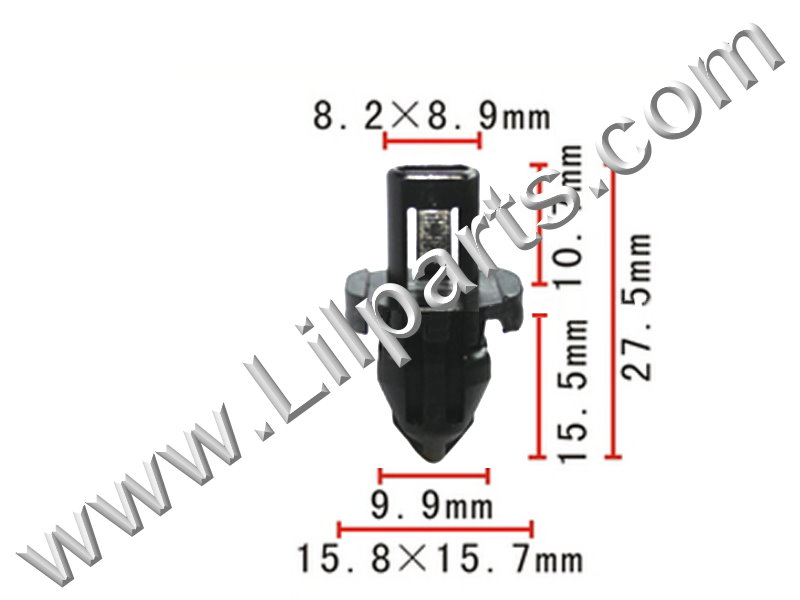 Compatible with Acura: 90661-ST7-003 Integra 1994-On PN:[10-196] Auveco 18456