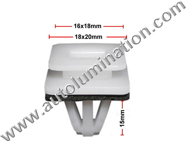 Compatible with Honda: 91504-SP1-003 Acura Legend, MDX, RL & ZDX and Honda Civic, CR-V & Odyssey 2012 - 1991 Auveco 21158