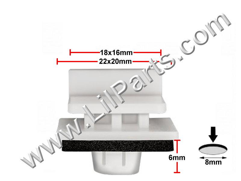 Compatible with Honda 91514-SAA-003: Honda Fit 2013 - 2007 PN:[11-732]
