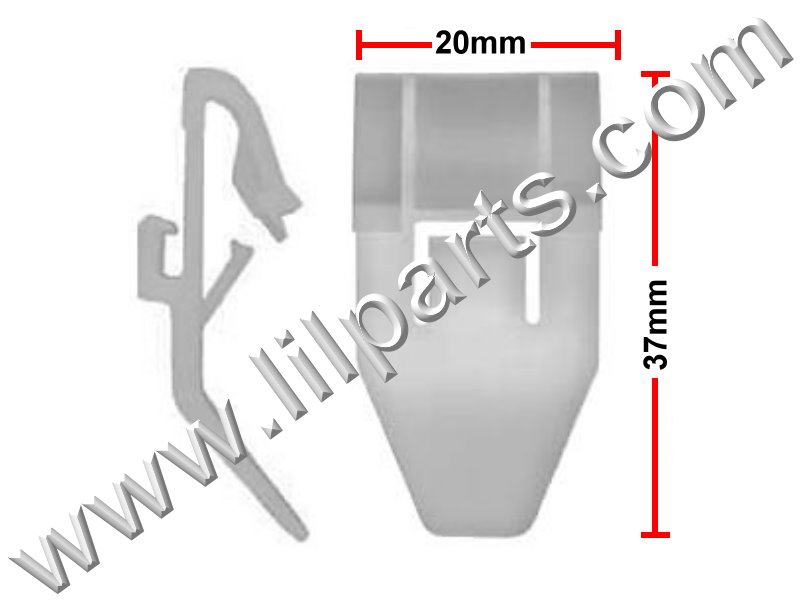 Compatible with Honda & Acura Door Molding Accord 1990-02, Odyssey 1994-04 CL 1997-03 Prelude 1997-01 RL 1996-04 Pilot 2003-08 MDX 2001-06 TL 1999-03 PN:[10-640] Auveco 19415