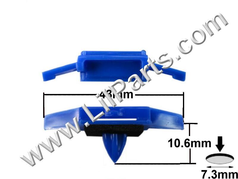 Compatible with, Honda:  91528-SR4-003 92-02 Accord, 92-05 Civic C622 Auveco 19115